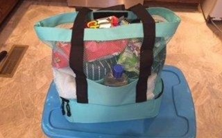 beach bag with built in cooler odyseaco