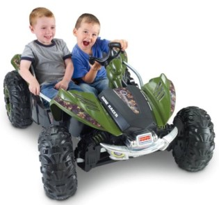 Fisher-Price Power Wheels Camo Dune Racer review
