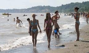 Port Stanley beach walk