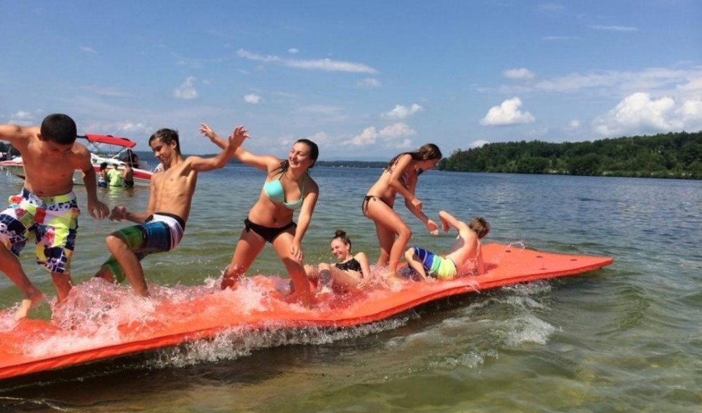 what are the different kinds of water inflatables