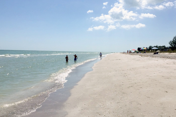 Bowman's Beach on Sanibel Is. Florida