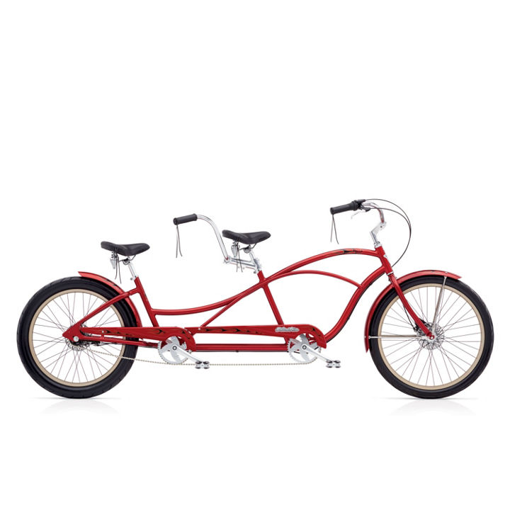 Electra Tandem Red