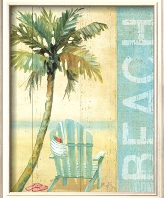 Soothe Yourself With Decorative Beach Word Art Beach