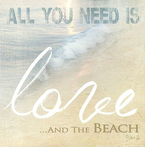 Download Life is Good at the Beach -Quote Art by Marla Rae - Beach ...