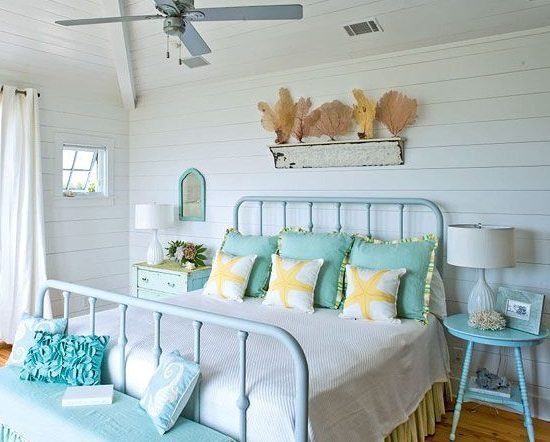 Do It Yourself Home Design: Awesome Above The Bed Beach Themed Decor Ideas