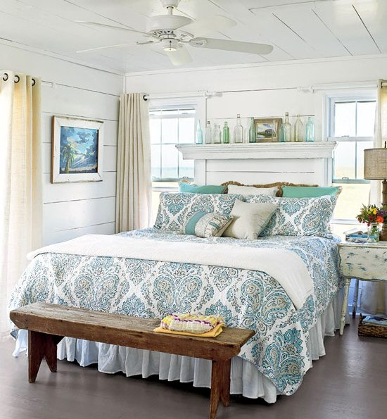 Awesome above the bed beach themed decor ideas - Above the headboard decorating ...