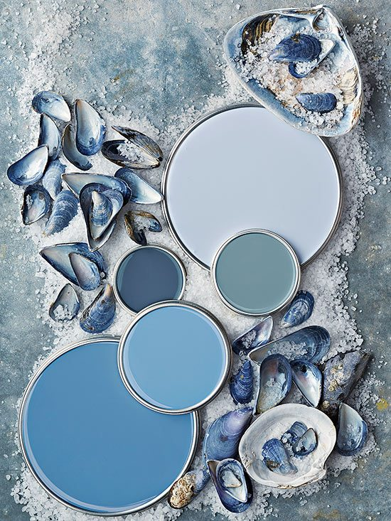 Paint Color Schemes Inspired From Beach Colors Beach