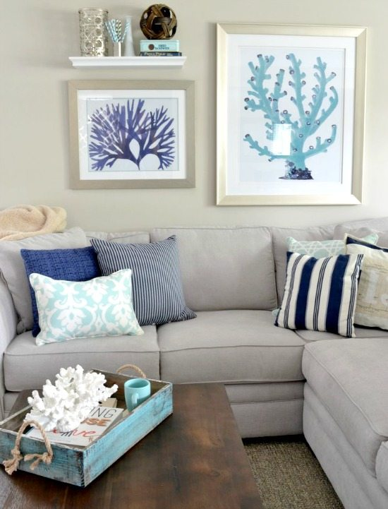 Coastal Paint Color Schemes Inspired From The Beach