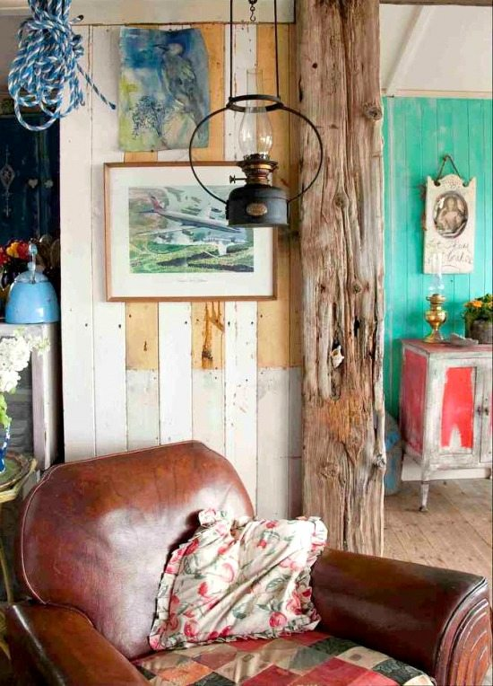 Extremely Rustic Shabby Chic Beach Cottage Beach Bliss