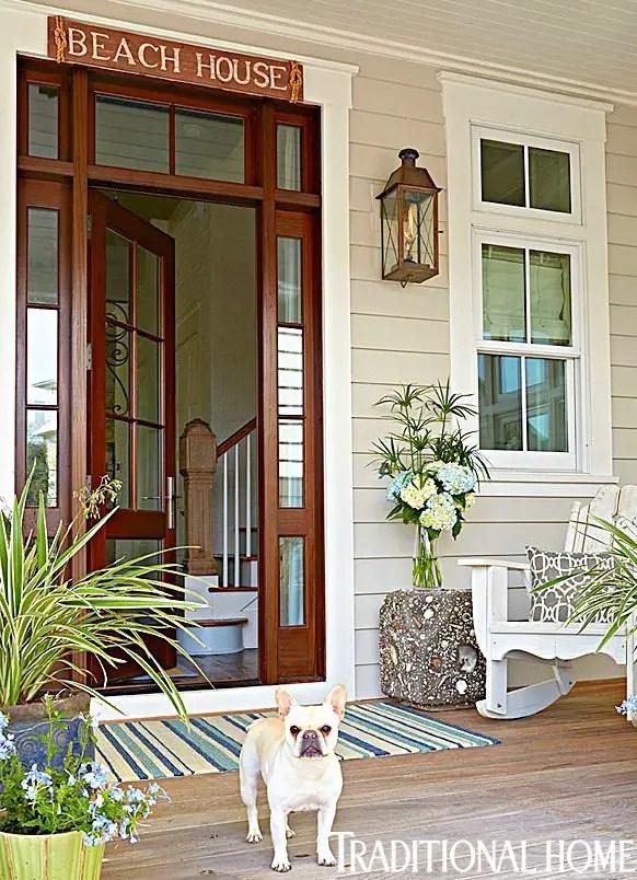 Beach House Sign Front Door