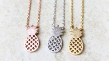 5 Pineapple Necklaces that are too Sweet to Eat