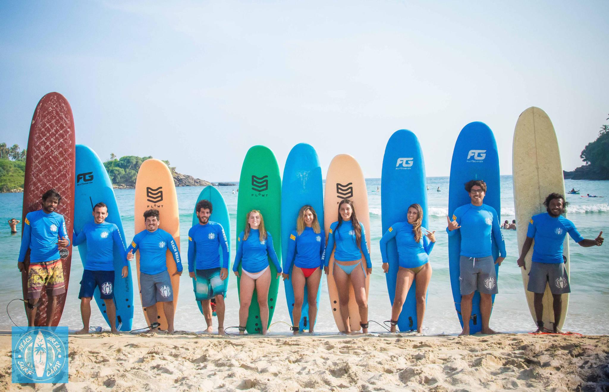Beach Break Surf Camp - Sri Lanka