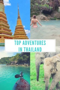 Adventures Activities Thailand