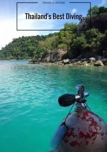best diving thailand