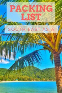 backpacking packing guide list