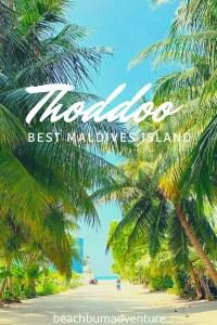 Thoddoo Best Island Maldives