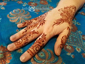 Good Henna Aftercare - Beautiful Red Henna Stain Orlando FL