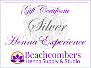 Henna tattoo gift certificate in Orlando