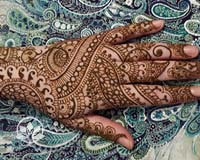 Learn Indian Bridal Henna
