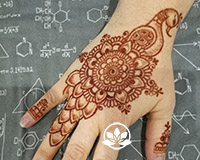 Learn to make henna peacocks