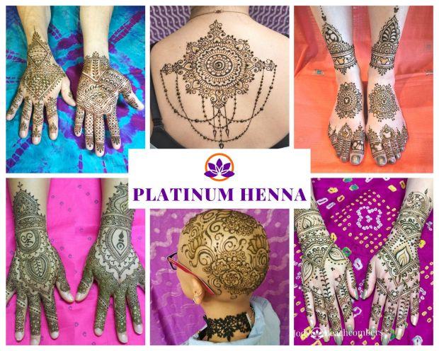Get a Platinum henna tattoo in Orlando