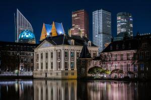 De binnenstad van Den Haag