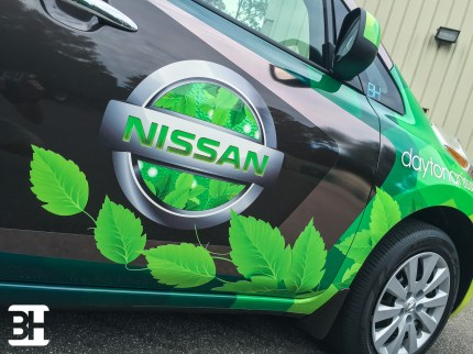 Vehicle graphics, wraps, signs and banner in the greater daytona beach area