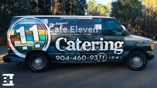 Restaurant vehicle wrap, graphics, signs banners and more