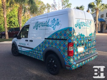Custom Graphics for company delivery van