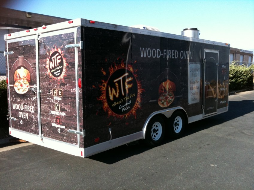 Vehicle Wrap - Food Truck Graphics