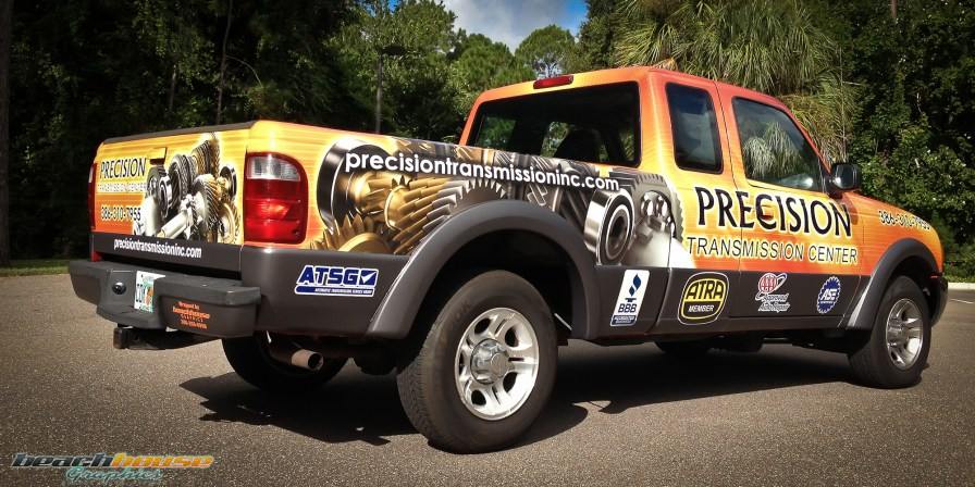 Central Florida - Vehicle Wraps - Truck Graphics - Professional Vinyl Wraps-14