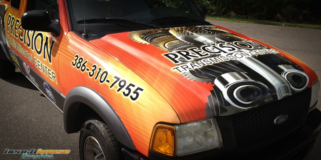 Central Florida - Vehicle Wraps - Truck Graphics - Professional Vinyl Wraps-16