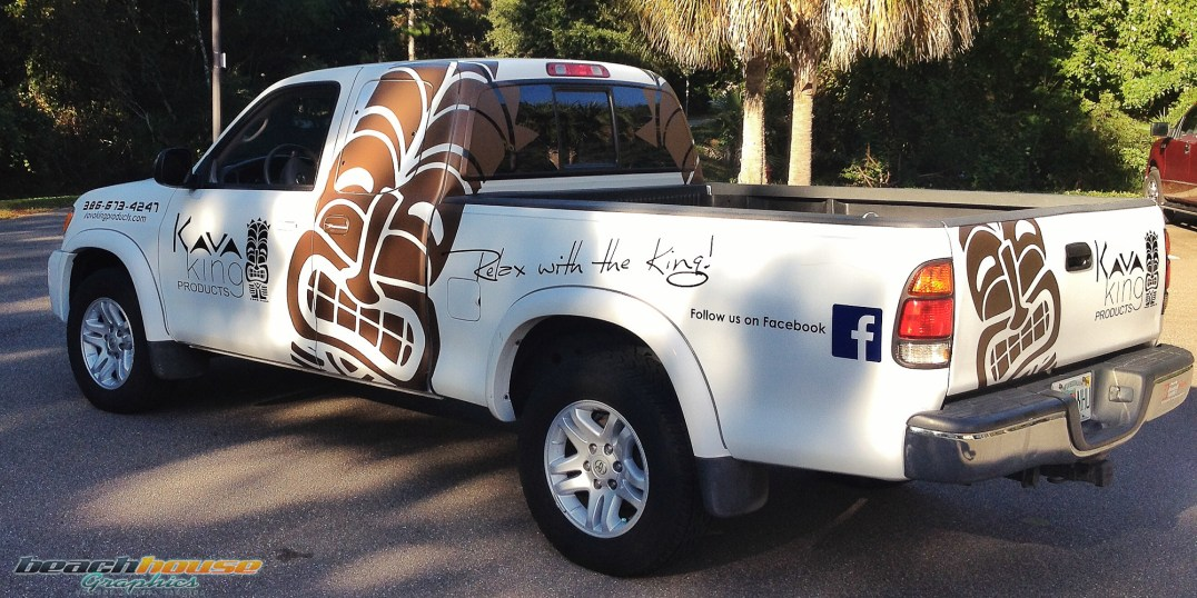 Kava King : Metallic Matte Brown Vinyl Graphics