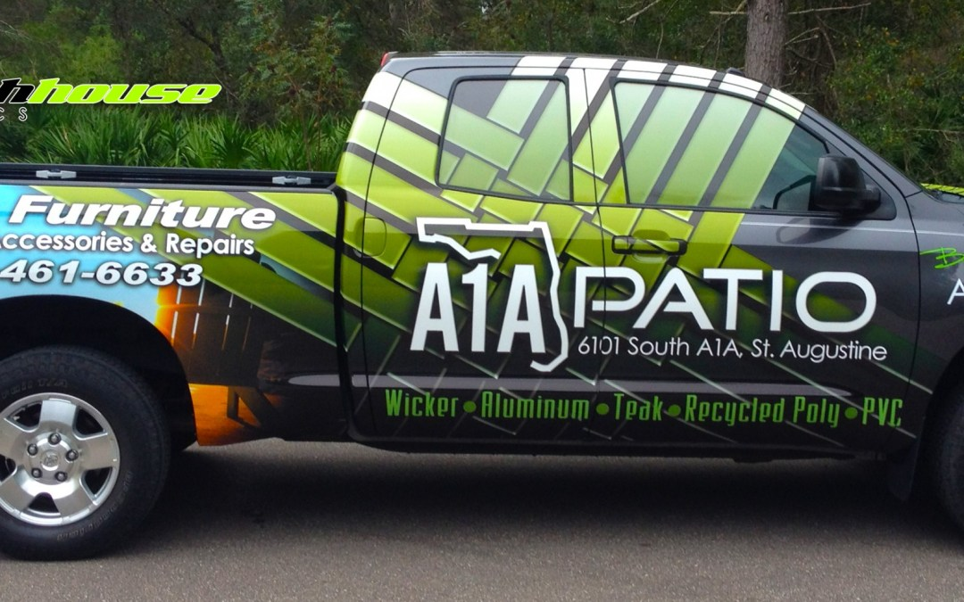 A1A Patio – Latest Truck Wrap
