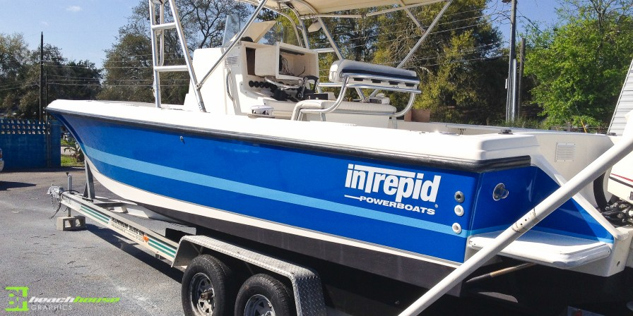 Flagler Beach Boat Wrap