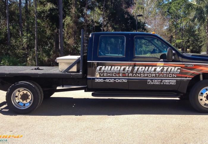 Church Trucking – Truck Wrap