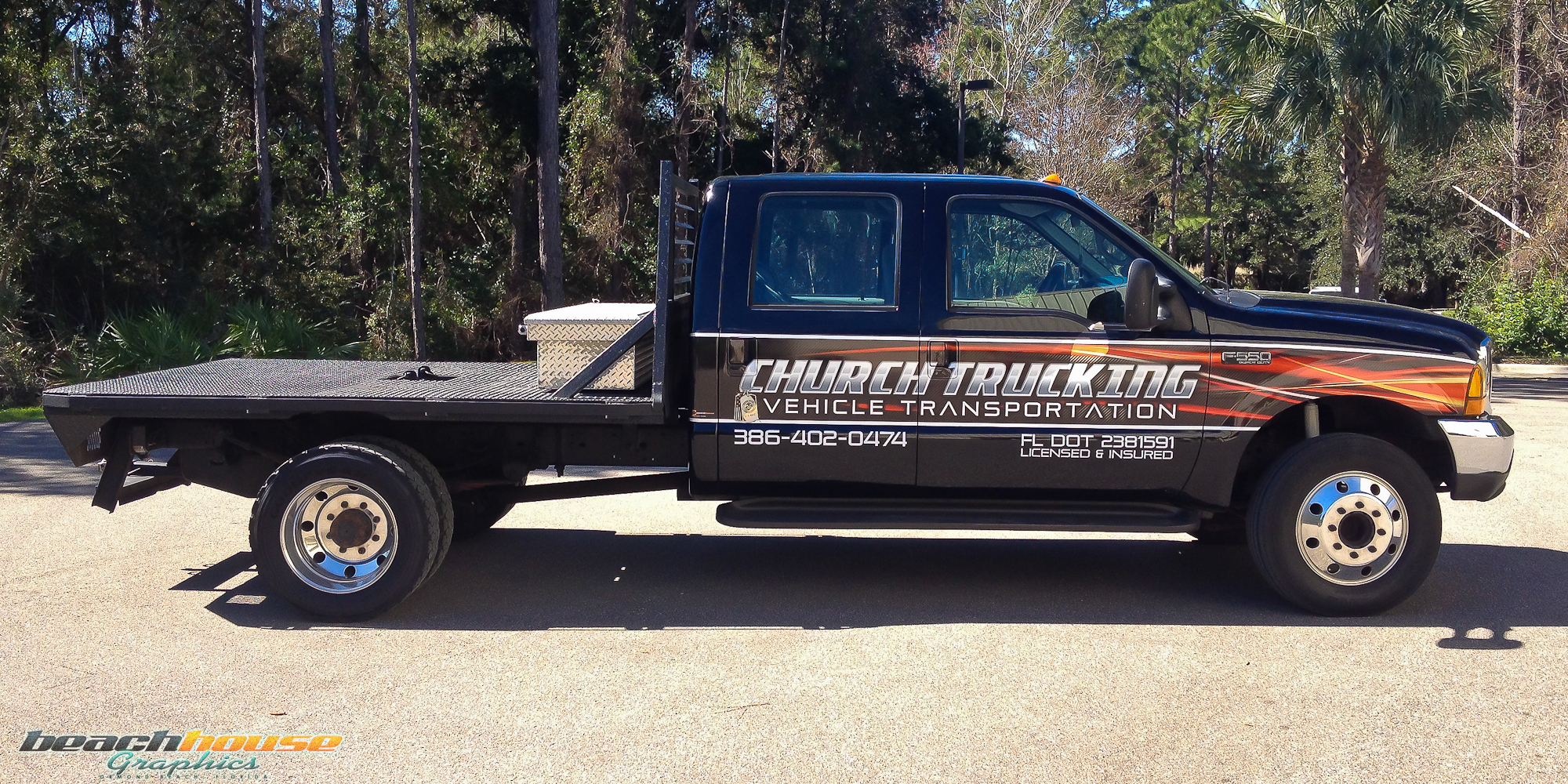 Truck Graphics and Vehicle Wrap