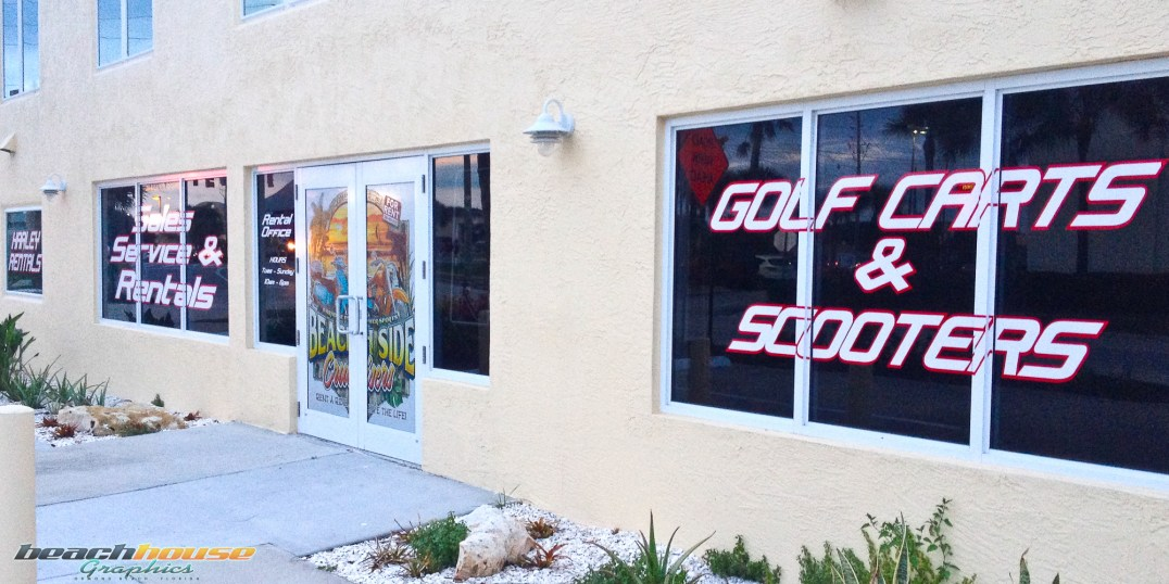 Vinyl Lettering, Graphics, Daytona Beach