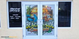 3M Window Perf, 2 way window advertising, window decal, stickers