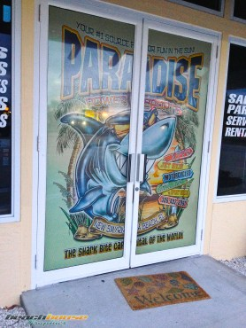 Paradise Power Sports : Front Doorway