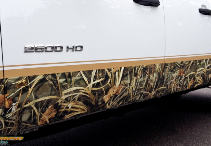 Mossy Oak and Real Tree Camo Wrap