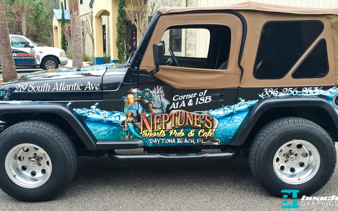 Jeep Wrap – Neptune's Sports Pub