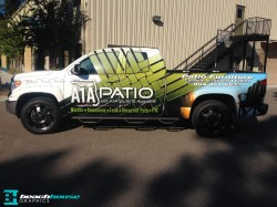 Vehicle wraps, graphics and more