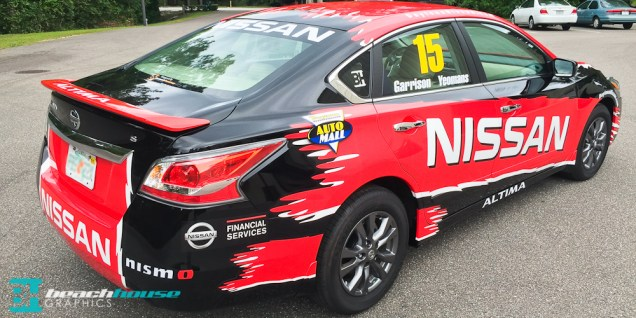 Altima graphics and wrap