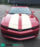 Custom_Striping_Camero_Chevy_Maroon_Tan_Personalized_Daytona_Flagler_Edgewater