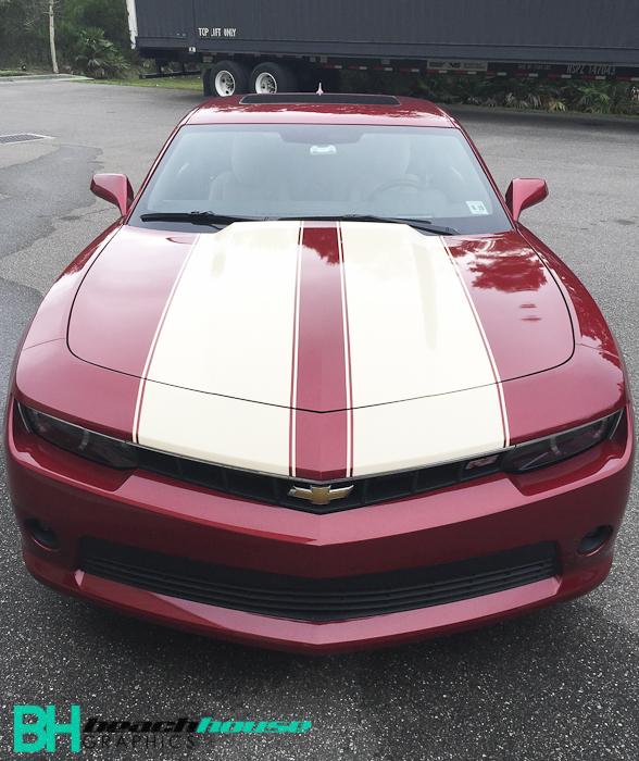 Custom_Striping_Camero_Chevy_Maroon_Tan_Personalized_Daytona_Flagler_Edgewater