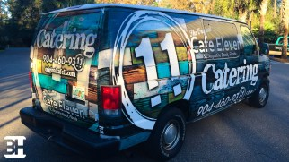 St Augustine Van Wrap for Catering company