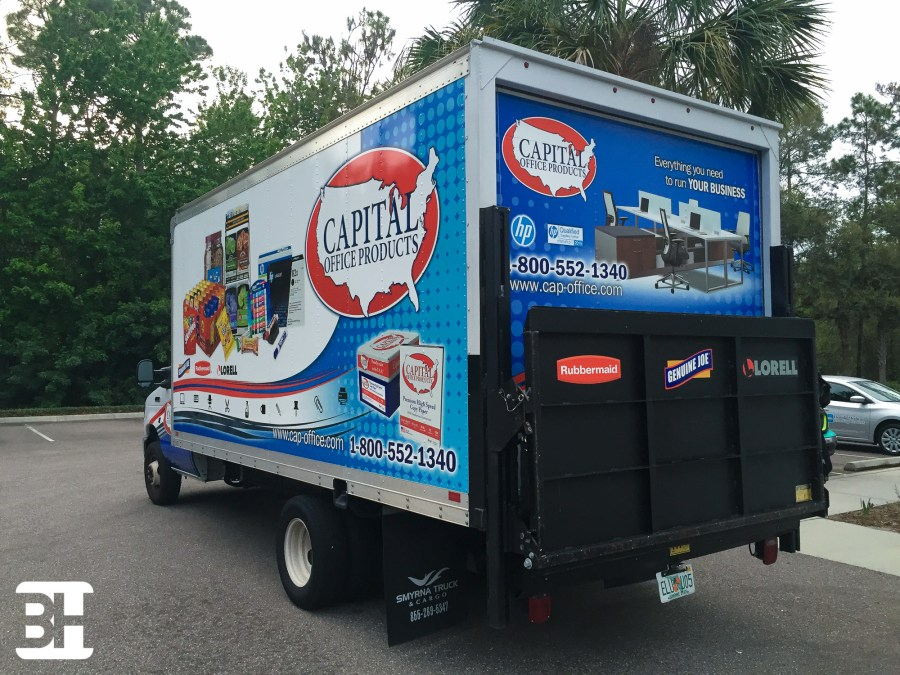 Fleet box truck wraps to improve professionalism and viability