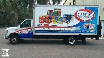 Fleet wraps and graphics in Daytona Beach Florida