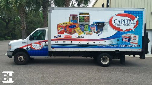 Fleet wraps and graphics in Daytona Beach Florida